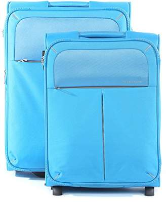 Roncato Trolley Luggage Set, 76 liters, Blue (Azzurro)