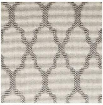Pottery Barn Fibreworks®; Custom Tile Print Wool Rug - Ivory/Gray