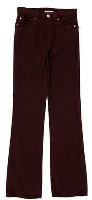 ALEXACHUNG x AG Mid-Rise Wide-Leg Jeans w/ Tags