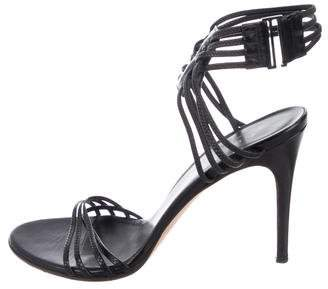 Gucci Leather High Heel Sandals