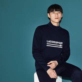 Lacoste Men's SPORT Stand-Up Collar Tennis Sweatshirt