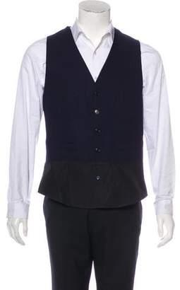 Viktor & Rolf Wool Button-Up Vest