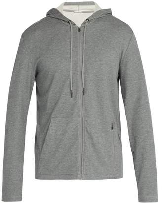 Falke Ess - Zip Through Hooded Sweatshirt - Mens - Grey