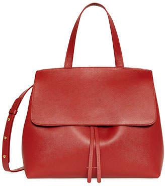 Mansur Gavriel Saffiano Lady Flap Tote Bag