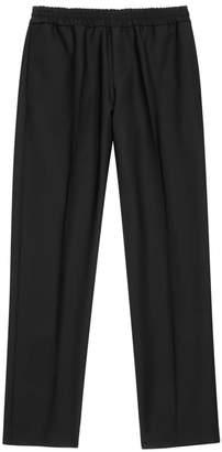 Acne Studios Ryder Black Wool-blend Trousers