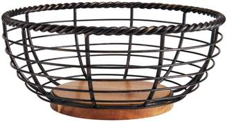 Mikasa Rope Round Fruit Basket