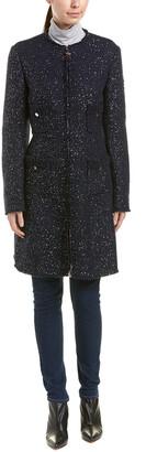 Moncler Moraine Wool-Blend Boucle Coat