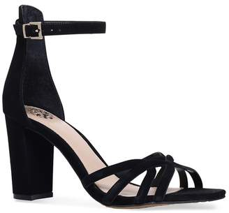 Vince Camuto Black 'Catelia' Block Heel Sandals