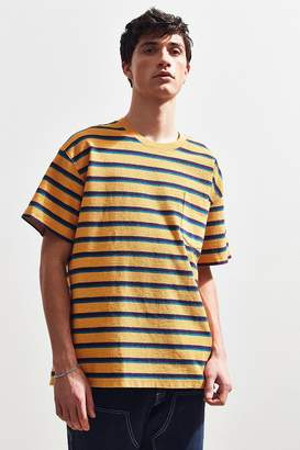 Urban Outfitters Loop Front Terry Stripe Dad Tee