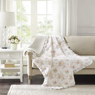 Home Essence Desiree Oversized Prewash Cotton Quilted Throw