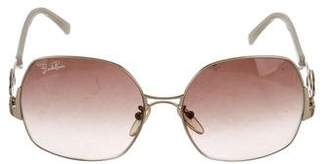 Emilio Pucci Square Oversize Sunglasses