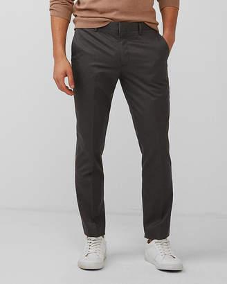 Express Extra Slim Gray Non-Iron Dress Pants