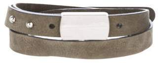 Gucci Suede Buckle Belt