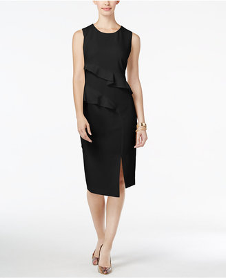 Thalia Sodi Ruffled Sheath Dress, Only at Macy's $89.50 thestylecure.com