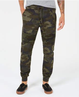 American Rag Men's Fleece Camo Jogger Pants