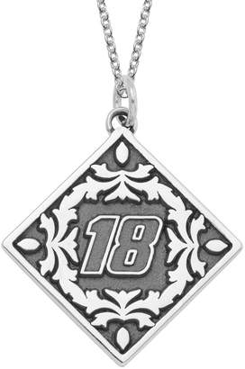 "Insignia Collection NASCAR Kyle Busch ""18"" Stainless Steel Pendant Necklace"