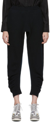 Stella McCartney Black Wool Simple Lounge Pants