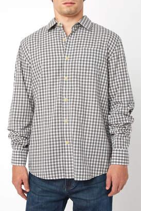 Grayers Preston Gingham Long Sleeve Button Down Shirt