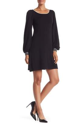 Max Studio Boatneck Sweater Dress
