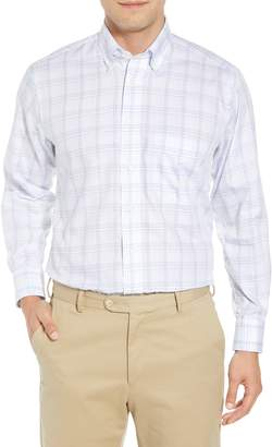 Gitman Tailored Fit Plaid Dress Shirt