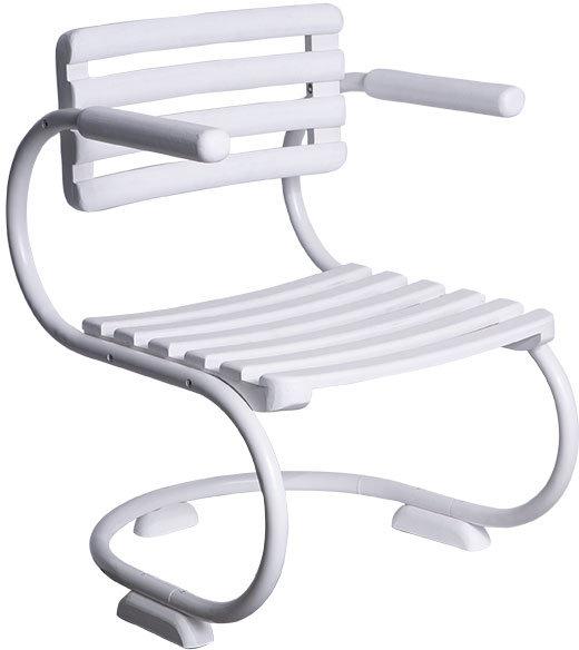 White Patio Chair
