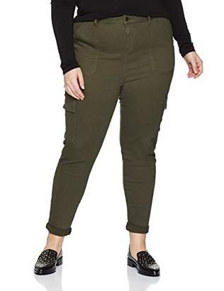6cba2e34ff0 New Look Curves Women s Skinny Cargo 6083119 Jeans