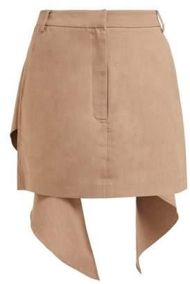 f8c19fb9e Tibi Waterfall Panel Mini Skirt - Womens - Camel