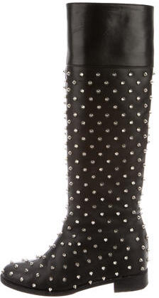 Christian Louboutin Christian Louboutin Meneboot Spiked Boots
