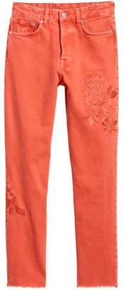 H&M Vintage High Ankle Jeans - Orange