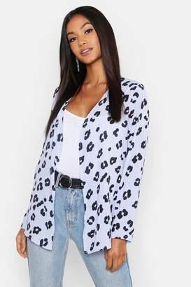 boohoo Leopard Print Kimono