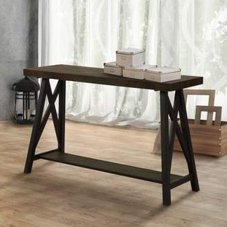 Three Posts Brookneal Industrial Console Table