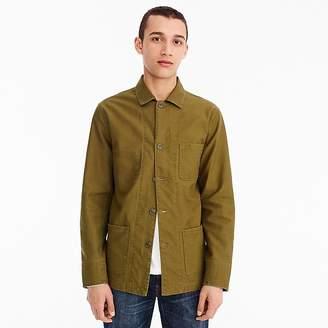 J.Crew Wallace & Barnes twill shop coat