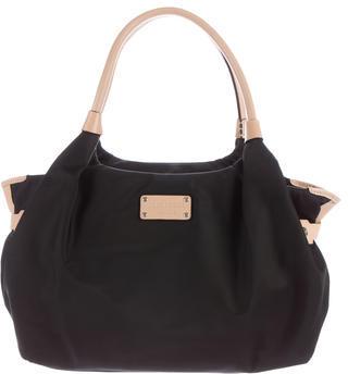 Kate SpadeKate Spade New York Leather-Trimmed Shoulder Bag