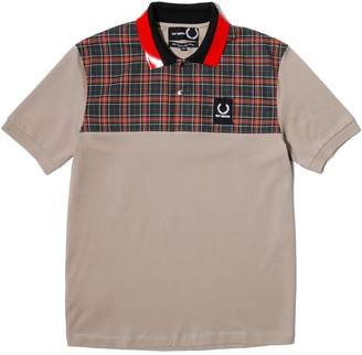 Fred Perry Raf Simons CHECK YOKE PIQUE SHIRT