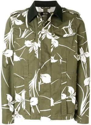 No.21 floral print jacket