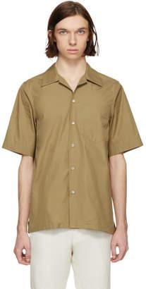 Marni Tan Short Sleeve Sport Shirt
