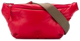 Maison Margiela red leather belt bag