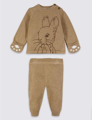 Marks and Spencer 2 Piece Peter Rabbit Top & Joggers Outfit
