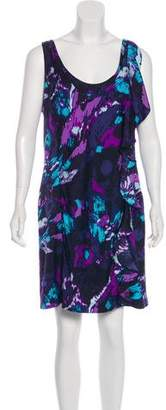 Tory Burch Silk Abstract Print Dress