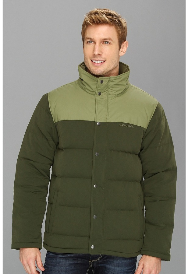 Patagonia Bivy Down Jacket (Urbanist Green) - Apparel
