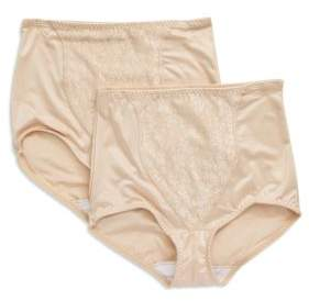 Bali Light Control Lace 2-pack Shaping Brief