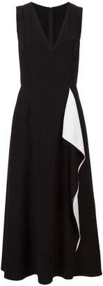 Carolina Herrera draped dress