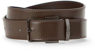 Versace Logo Keeper Leather Belt
