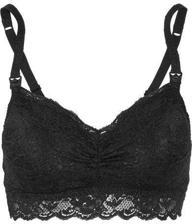CosabellaCosabella - Never Say Never Mommie Stretch-lace Nursing Bra - Black