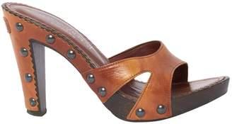 Saint Laurent Leather Mules