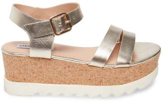 Steve Madden Stevemadden KEYKEY GOLD LEATHER