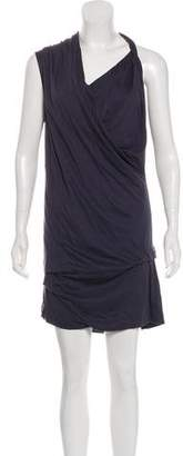 Brunello Cucinelli Draped Silk Dress