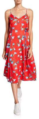 Rag & Bone Hugo Floral-Print Tank Dress