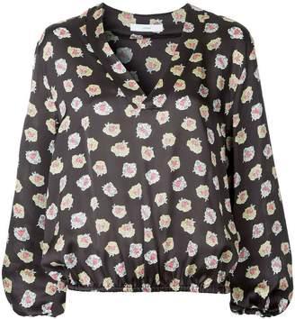 ASTRAET floral v-neck blouse