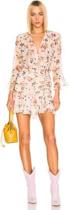 Veronica Beard Sean Dress in Cream Multi | FWRD